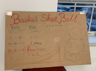 Basket Skee Ball